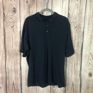 🌕4/$15🌕Nike Golf Dark Blue Polo Textured Shirt